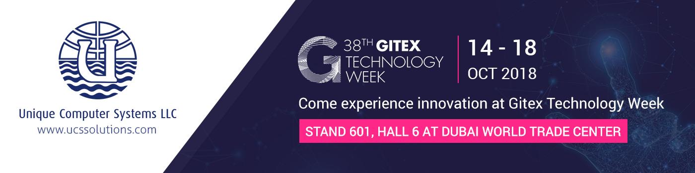 Visit UCS at GITEX 2018