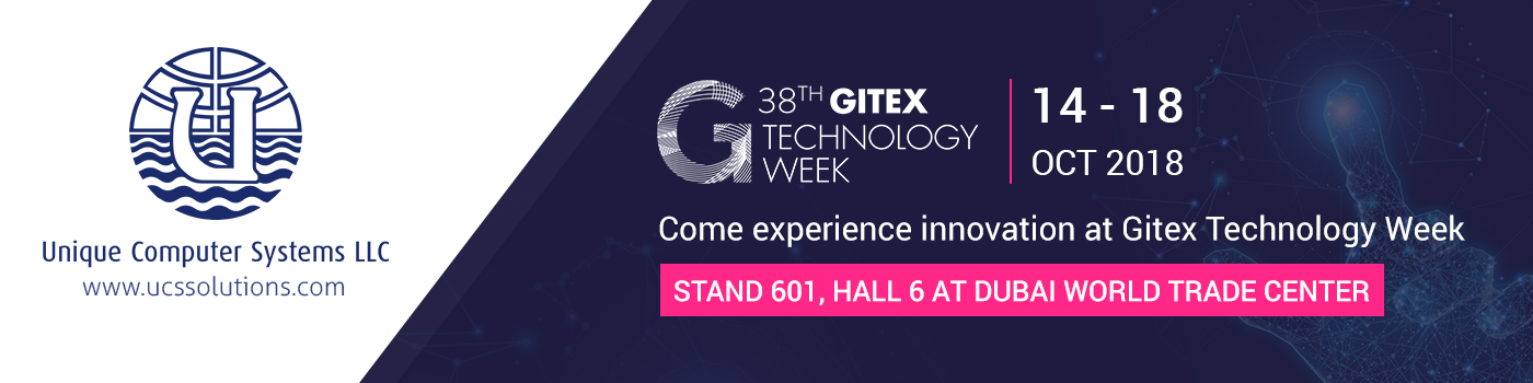 Visit UCS at GITEX 2018